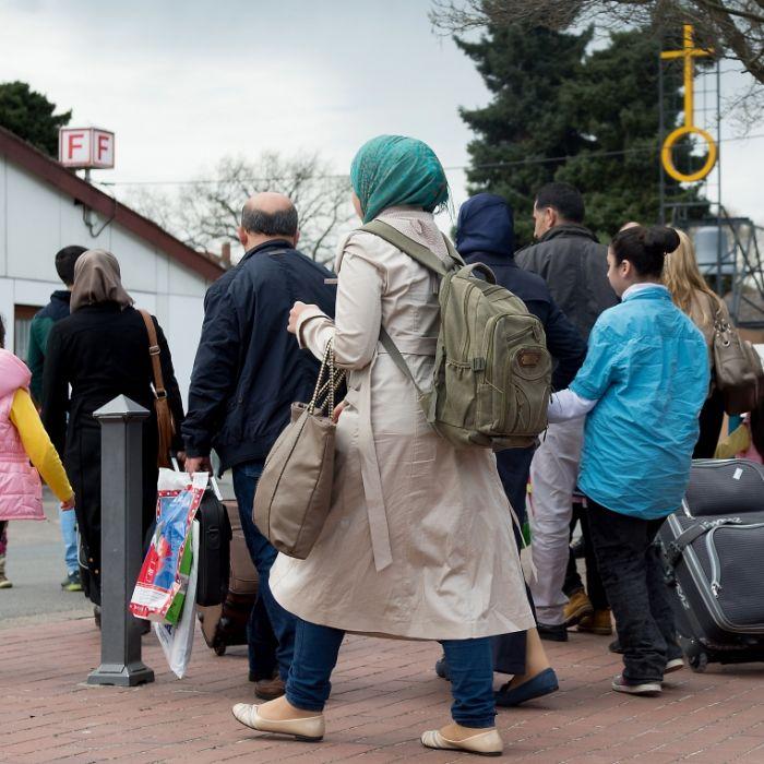 Deutschland gab 437 Flüchtlingen Geld für Rückkehr nach Syrien (Foto)