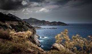Sturm mit heftigem Regen hat auf der Touristeninsel Kreta zum zweiten Mal binnen weniger Tage erhebliche Schäden angerichtet. (Foto)