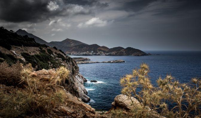 Heftiges Unwetter auf Kreta 2019