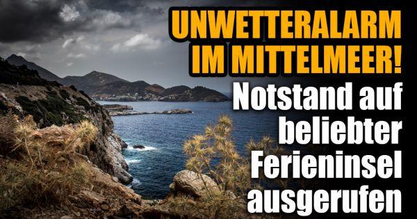 Heftiges Unwetter Auf Kreta 2019 Notstand Auf Beliebter