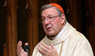 Ein australisches Gericht hat Kardinal George Pell für schuldig befunden, in den 90er Jahren zwei Chorknaben sexuell missbraucht zu haben. (Foto)