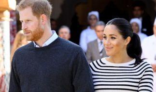 Meghan Markle ist seit knapp einem Jahr mit Prinz Harry verheiratet, bald kommt das erste gemeinsame Kind des Paares zur Welt. (Foto)