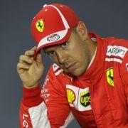 Alle Ergebnisse! Verfrühter Feierabend für Vettel nach Defekt bei Tests (Foto)