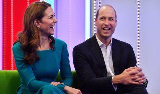 Kate Middleton und Prinz William strahlt das Liebesglück aus jeder Pore. (Foto)