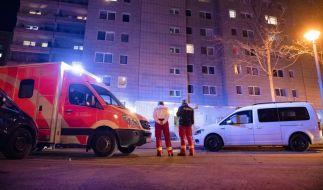 Am Abend war aus dem 10. Obergeschoss des Hauses ein siebenjähriges Kind gestürzt (Foto)
