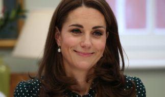 Kate Middleton strahlt, egal ob sie Designer-Mode oder Klamotten von der Stange trägt. (Foto)