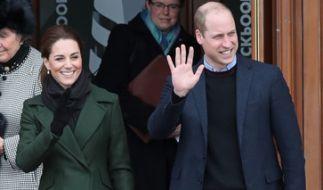 Kate Middleton und Prinz William waren in Blackpool zu Gast. (Foto)