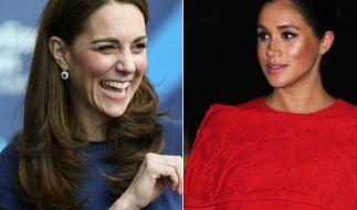 Po-Blitzer und Wehen-Alarm bei Kate Middleton und Meghan Markle. (Foto)