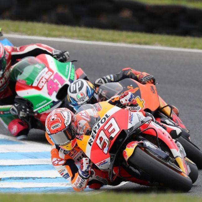 Zeitplan geändert! Rennen von Moto2,MotoGP undMoto3 heute live sehen (Foto)