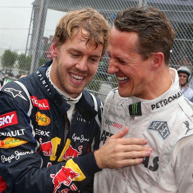 Sebastian Vettel räumt mit Schumi-Gerüchten auf (Foto)