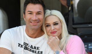 Lucas Cordalis und Daniela Katzenberger sorgen sich Schlager-Star Costa Cordalis. (Foto)