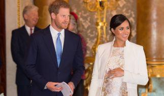 Prinz Harry und Herzogin Meghan erwarten ihr erstes Kind. (Foto)