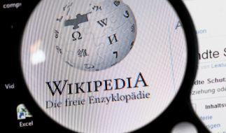 Wikipedia schaltet aus Protest seine Seite für 24 Stunden ab. (Foto)