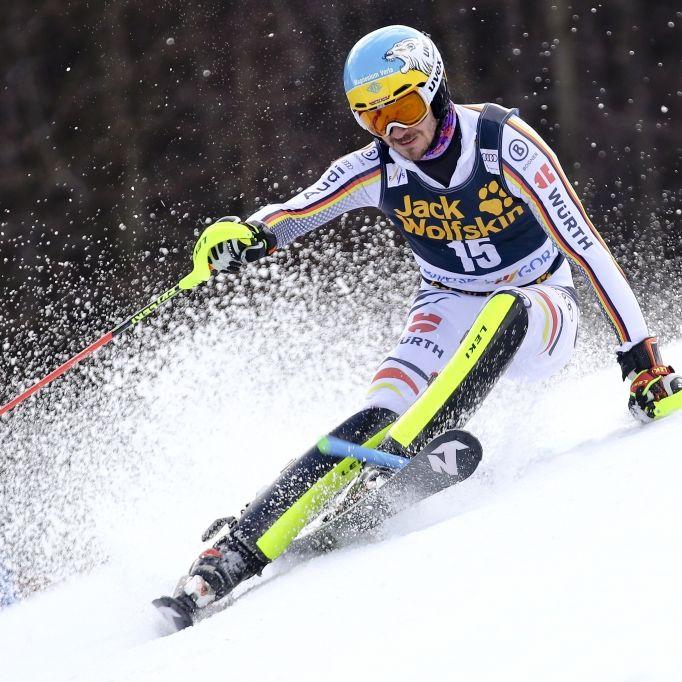 Felix Neureuther beendet seine Karriere mit Rang 7 im Slalom (Foto)