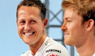 Michael Schumacher waren einst Team-Kollegen. (Foto)