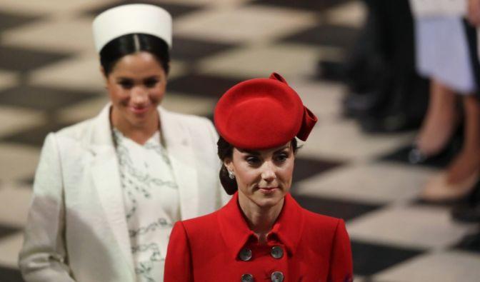 Kate Middleton und Meghan Markle