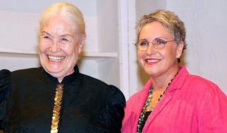 Ellen Schwiers (links) möchte sterben. (Foto)