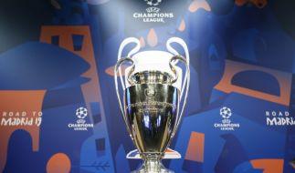 Die Auslosung der Champions-League-Viertelfinal-Spiele steht an. (Foto)