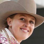 Gina Schumacher freut sich über Nachwuchs: Ihre Stute hat ein Fohlen bekommen. (Foto)