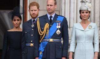 Prinz William und Prinz Harry sollen sich entfremdet haben. (Foto)