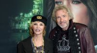 Über 40 Jahre lang waren Moderator Thomas Gottschalk und Thea ein Paar. (Foto)