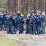 Auf der Suche nach der 15-jährigen Rebecca hat die Polizei eine großangelegte Suchaktion in Brandenburg eingeleitet - leider ohne Erfolg.