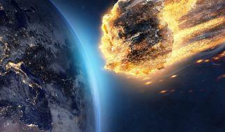 Ein Meteorit hat den Himmel über Russland erleuchtet. (Foto)