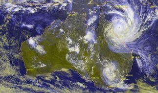 """2010 wurde Australien vom Zyklon """"Yasi"""" mit voller Wucht getroffen. (Foto)"""