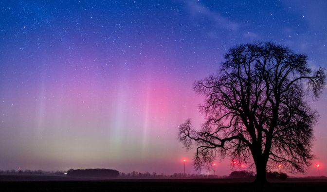 Polarlichter im März 2019 beobachten