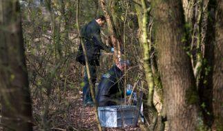 Im schleswig-holsteinischen Glinde ist eine Babyleiche in einem Waldstück gefunden worden. (Foto)