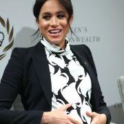 SO stellt sich Herzogin Meghan die Entbindung vor (Foto)