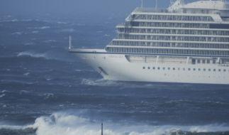 """Bei einem Sturms gerät das Kreuzfahrtschiff """"Viking Sky"""" mit 1373 Menschen an Bord in Norwegen in Seenot. (Foto)"""