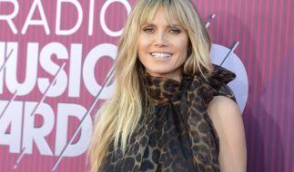 Heidi Klum freut sich über dieAuszeichnung als beliebteste TV-Jurorin. (Foto)