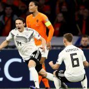Nico Schulz schießt Deutschland zum Sieg gegen die Niederlande (Foto)
