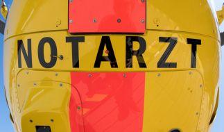 Die 7-Jährige wurde per Rettungshubschrauber ins Krankenhaus geflogen. (Symbolbild) (Foto)