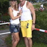Saskia Atzerodt und ihr Ex-Partner Nico Schwanz.