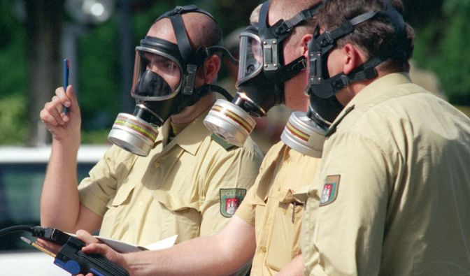 Giftiges Gas in Straubing