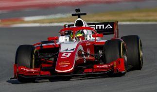Mick Schumacher, Sohn von Rennsport-Legende Michael Schumacher, hat den Aufstieg in die Formel 2 geschafft. (Foto)