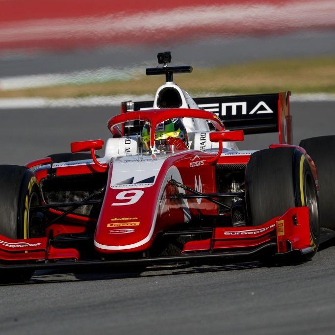 Mick Schumacherbei Formel-2-Rennen Neunter (Foto)