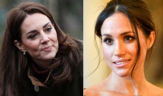 Trennungsschmerz bei Kate Middleton und Meghan Markle. (Foto)