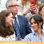 Keine Freunde! So steht Kate wirklich zu Meghan Markle (Foto)