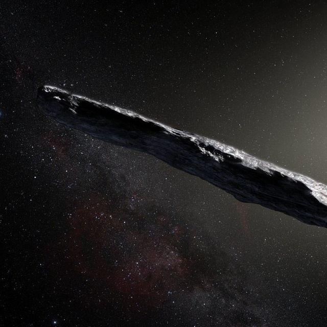 Woher kommt das womöglich außerirdische Raumschiff? (Foto)