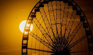 Ein Pärchen hatte in Cincinnati Sex in einer gläsernen Riesenradgondel. (Symbolbild) (Foto)