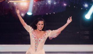 "Sarah Lombardi entwickelte dank ihrer Teilnahme an ""Dancing On Ice"" ein neues Körpergefühl. (Foto)"