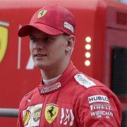 Gänsehaut-Moment in der Wüste: Mick Schumacher fährt im Ferrari (Foto)