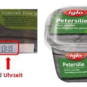Iglo ruft Tiefkühl-Petersilie zurück wegen Verseuchung mit E.coli-Bakterien (Foto)