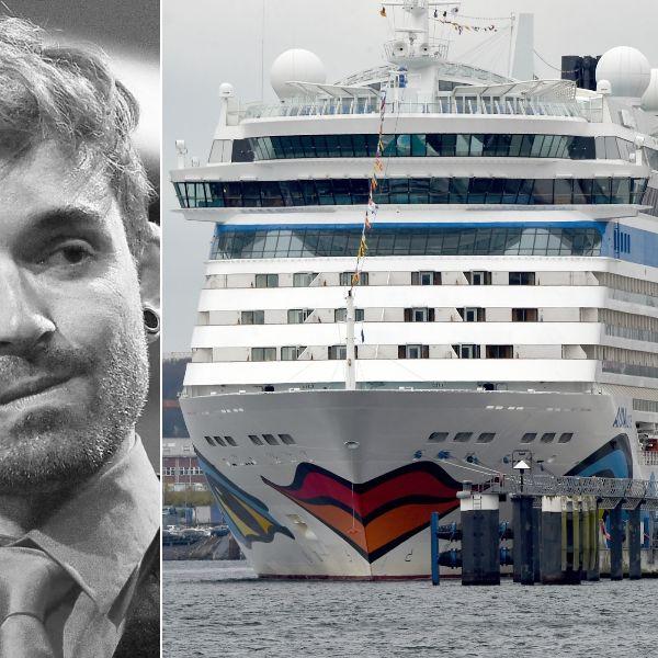 Razzia auf AIDAluna: Polizei durchsucht Küblböck-Kreuzfahrtschiff! (Foto)