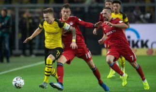 Bayern und Dortmund treffen zum 100. Mal in der Bundesliga aufeinander. (Foto)