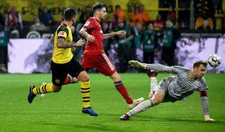 Ein ganz besonderes Duell: Bayern gegen den BVB. (Foto)