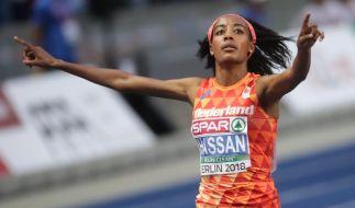 Die niederländische Europarekordlerin Sifan Hassan peilt beim Berliner Halbmarathon am Sonntag den Weltrekord an. (Foto)